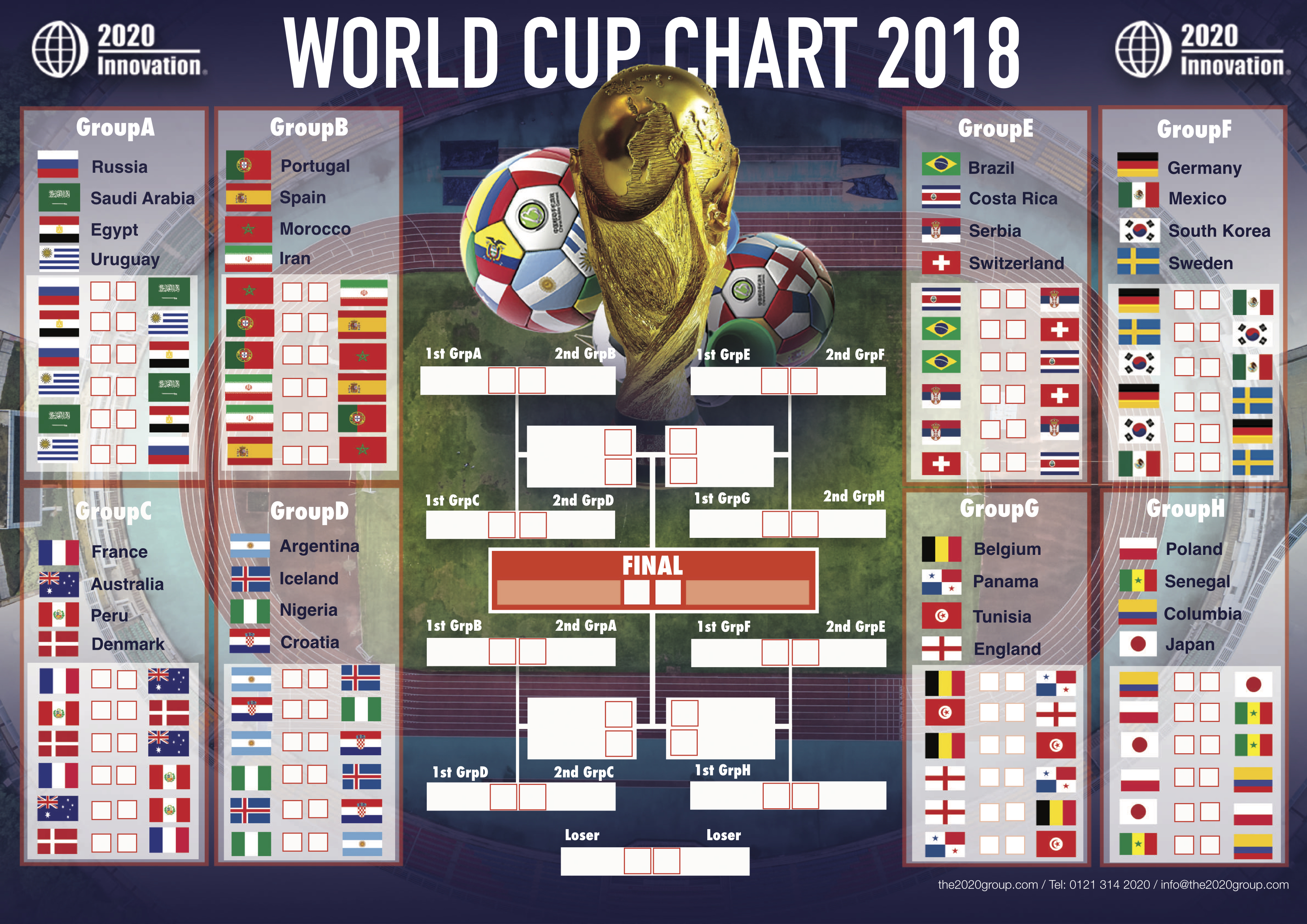 It's just a photo of Clean World Cup 2020 Groups Printable